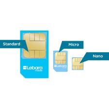 Lebara Prepaid Sim Karte mit 3 GB Internet auch in EU Länder gültig Neu in Ovp