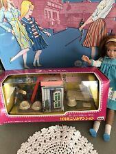 Vintage Barbie/Skipper Takara Licca Miniature Dollhouse Rare!