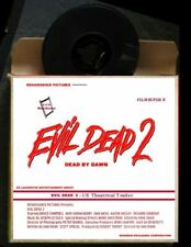 "Film Super 8mm (mute sample) ""Evil Dead II"" Sam Raimi / Bruce Campbell 1987"