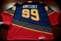 St. Louis Blues Signed Autographed Wayne Gretzky Jersey Auto Hockey PSA Auth