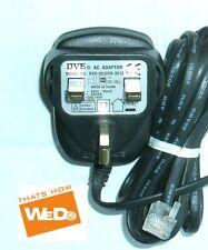 DVE Adaptador de CA DVR-0630UK-3512 6V 300mA BT Converse 1300/1400 enchufe de Reino Unido