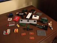 LEGO Train Lot 10194 10173 7897 3677 7898 - Parts, Incomplete