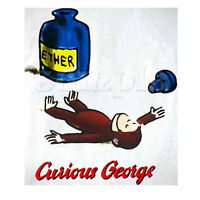 CURIOUS GEORGE IRON ON TRANSFER #2