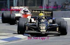 Ayrton Senna JPS Lotus 98T Australian Grand Prix 1986 Photograph