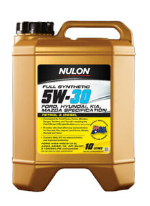 Nulon Full Synthetic Engine Oil Fuel Efficient 5W-30 10L fits Kia Mentor 1.5 ...