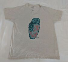 Paul Frank Mens Owl T-Shirt Tee V Neck Sz L