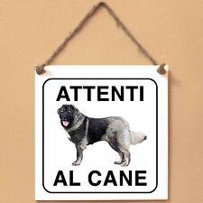 Cane da pastore del Caucaso 2 Attenti al cane Targa piastrella cartello