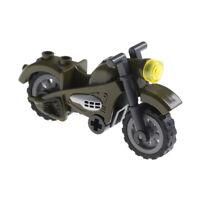 Field war mini 2rounds arms motorcycle model compatible legoinglys buildingtoyGD