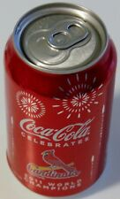 St. Louis Cardinals 2011 World Series Coke Can Great Souvenir! Free USA S/H