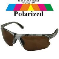 Polarized Polarised Lens Car Driving Fishing Sport Golf Sunglasses & Case POL730