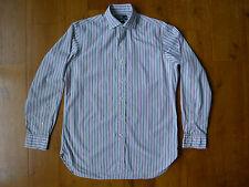 "Ralph Lauren men's long sleeve shirt size 15.5"", 39 cm multi color custom fit"