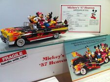 Micky Mouse Classic Custom 57 Chevy  Walt Disney Collectible 1:24