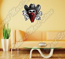 Outlaw Skull Texas Western Cowboy Bandit Wall Sticker Room Interior Decor 22""