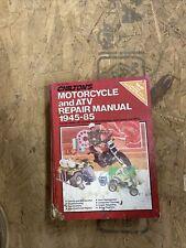 1945-1985 Chilton's Motorcycle & Atv repair manual