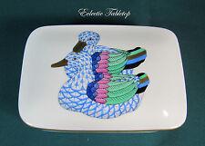 Herend Mallard Duck Porcelain First Edition Trinket Box