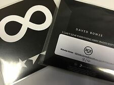 David Bowie 'I Can't Give Everything Away'  Brand New RCA 2016 Promo Cd