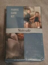 Stainsafe Fabric Care Kit 4oz Bottles Cleaner Protector Sponge & Cloth NEW