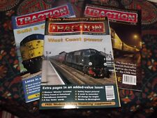 3 x TRACTION Magazine Back Issues Railway Diesel Loco Class 20 25 37 40 50 47 52