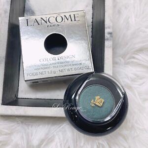 Lancome Color Design single eyeshadow - 505 Siren's Emerald (metallic) NEW
