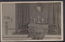 Canada? Postcard - Interior of Renown Chapel?  RS7553
