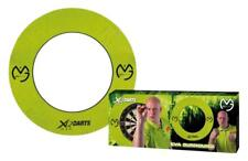 MICHAEL VAN GERWEN XQ MAX DARTBOARD SURROUND 4 PIECE ROUND  LIGHTWEIGHT EVA FOAM