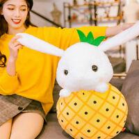 2019  Cartoon Soft Fruit Bunny Plush Toy Big Stuffed Anime Rabbit Doll 50cm