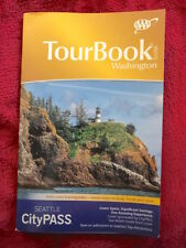 Washington Tour Book Guide AAA Atlas Maps Events Calendar 2018 Edition NEW