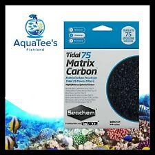 SEACHEM TIDAL MATRIX CARBON 75 FILTER REPLACEMENT MEDIA PACK Aquarium Tank Salt