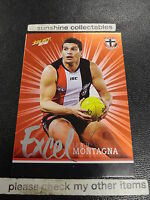2016 AFL SELECT FOOTY STARS EXCEL CARD NO.EP178 LEIGH MONTAGNA ST KILDA