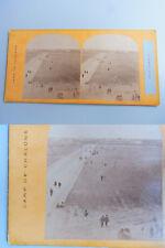 Stéréo copie/stereofoto pour 1860: CAMP DE CHALONS: Grand Messe au Camp