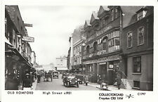 Essex Postcard - Old Romford - High Street c1921 -  Ref U753