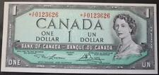 Canada 1954 $1 Dollar Replacement Note, Crisp Choice Uncirculated, *XF0123626