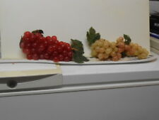 2 Groups of Fake Display /Decorative Fruit: Grapes