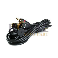 High Quality 6FT 3.5mm AUX Plug to 3RCA male AUX Composite Audio Video OFC cable
