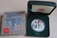 Kanada 1 Dollar 2002 Golden Jubilee Silber PP