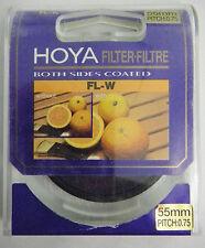 PRL) HOYA FILTRO FILTRE FILTER FILTAR FILTRU 55 mm FL-W 2 SIDES COATED PITCH075