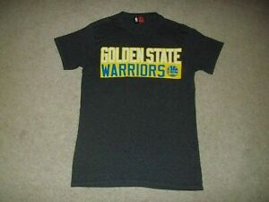 Rare Stephen Curry Golden State Warriors NBA Majestic Adult Small #30 Gray Shirt