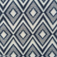 BERNHARDT TEXTILES GEOMETRIC WOVEN MULTIPURPOSE FABRIC ACE/INK BY THE YARD