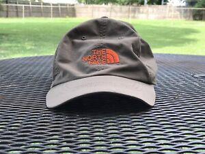 The North Face Nylon Cap Hat Strapback Brown/Olive Color Men's Large/XL Good!