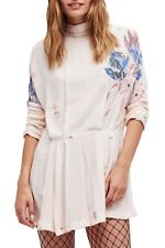 Free people women's Gemma open back Tunic/Mini Dress size Large new with tags
