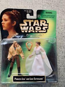 STAR WARS POWER OF THE FORCE UGNAUGHTS and Princess Leia/Luke