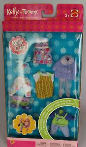 NRFB 2002 Barbie Fashion Avenue Vintage Kelly Tommy 47608 Clothes Pack Set Club