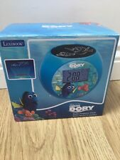 Lexibook Finding Dory Radio Alarm Projector kids Clock Brand New