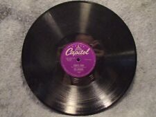 """78 RPM 10"""" Record Ray Anthony Mr Anthonys Blues & Cooks Tour Instrumental 1502"""