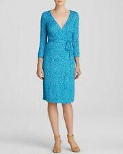 Diane von Furstenberg original silk wrap dress Julian Two Work/Office