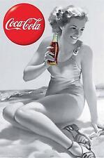 Coca-Cola Coke Girl Poster Art Print 24x36 (61X91.5cm)