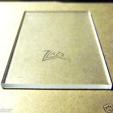"(1) 6"" x 12"" x 1/4"" CLEAR Acrylic Sheet Plastic Plexiglass Craft Supplies USA"
