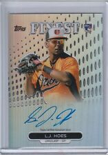 L.J. HOES 2013 FINEST ROOKIE AUTO REFRACTOR