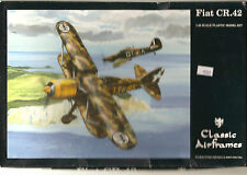 Classic Air Frames FIAT CR.42   Italian Fighter  1/48  No.474