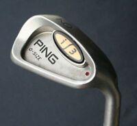 Ping i3 O-Size 9 Iron Maroon Lie Angle JZ Cushin Regular Flex Steel